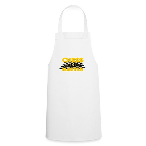 Chess Master - Black Version - By SBDesigns - Cooking Apron
