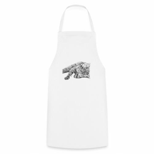Petit chaton au crayon gris - Tablier de cuisine