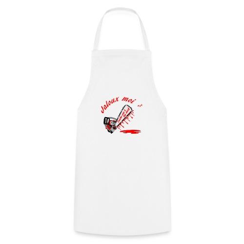 t shirt jaloux moi amour possessif humour - Tablier de cuisine