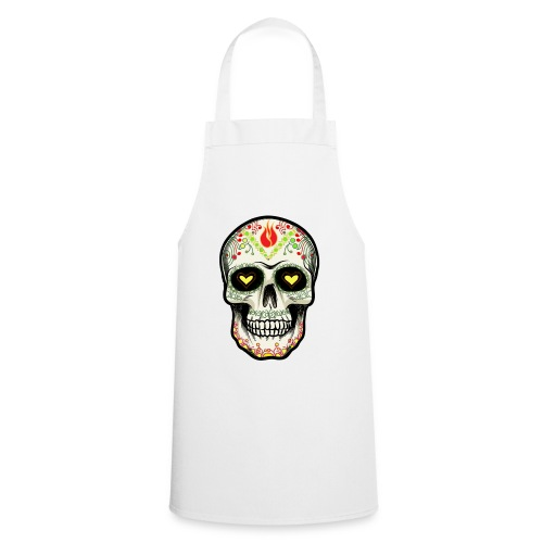 TETE DE MORT 1 - Tablier de cuisine