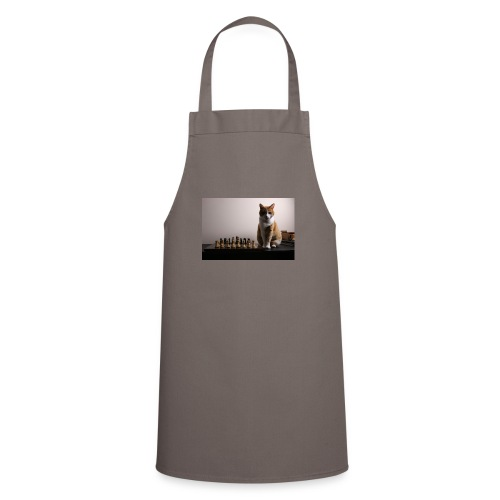 Charlie and his chess board - Cooking Apron