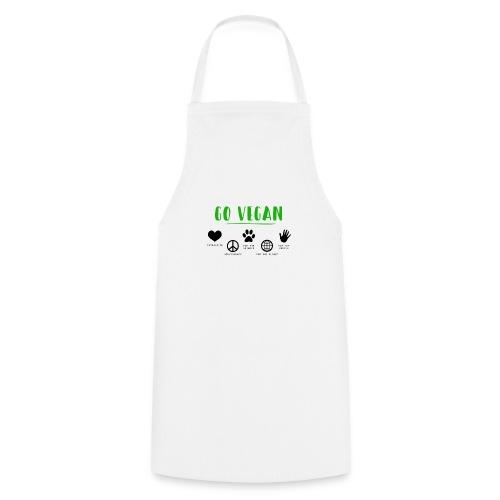 Go vegan - Tablier de cuisine