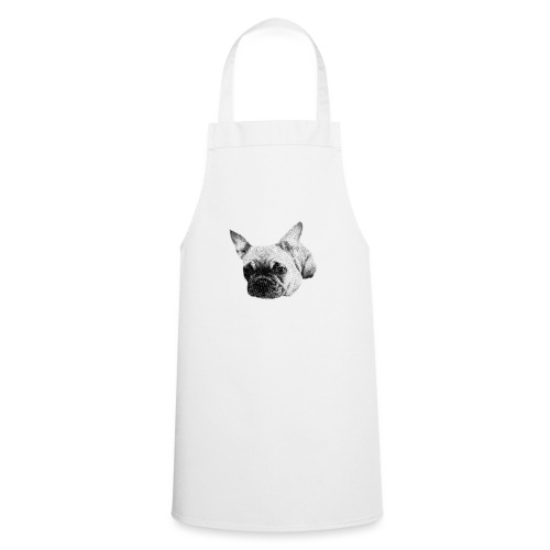 frenchie sketch - Cooking Apron