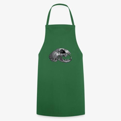 cat skull - Cooking Apron