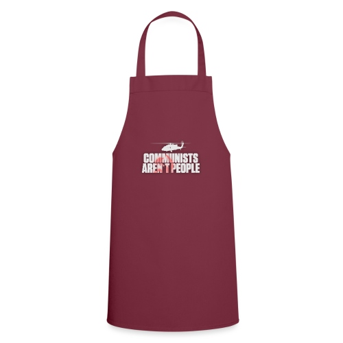 Communists aren't People (White) (No uzalu logo) - Cooking Apron
