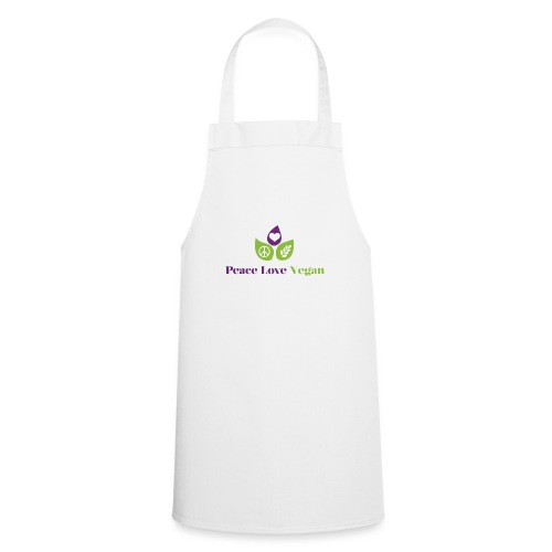 Peace Love Vegan - Cooking Apron