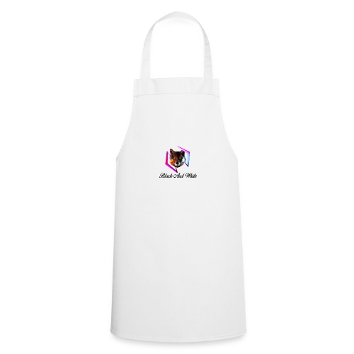 Logo Black And White Centrale - Grembiule da cucina