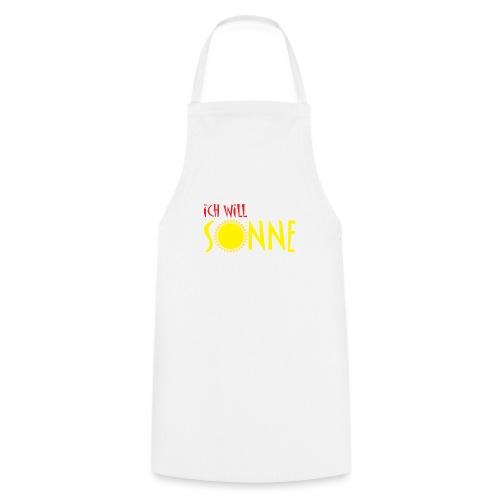 Ich will Sonne - Kochschürze