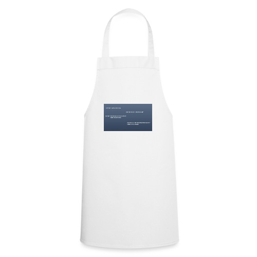 Running joke t-shirt - Cooking Apron