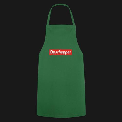 Opschepper Classic (Rood) - Keukenschort