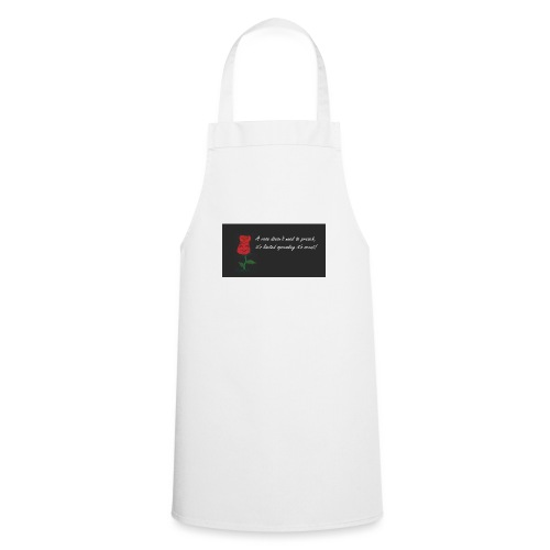 ROSA ROSSA - Grembiule da cucina