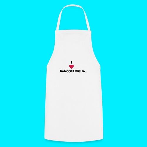 BANCOFAMIGLIA CuoreNera - Grembiule da cucina