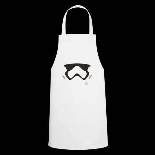 Modern Stormtrooper Face - Cooking Apron