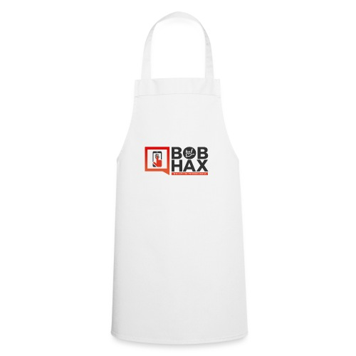 LOGO BobHax nero trasp - Grembiule da cucina