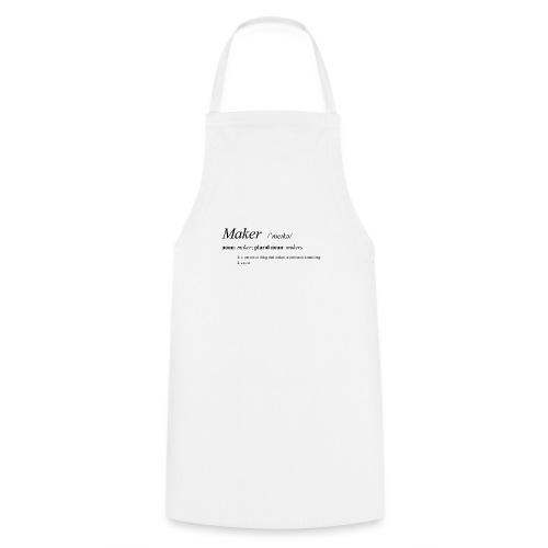 Maker definition. - Cooking Apron