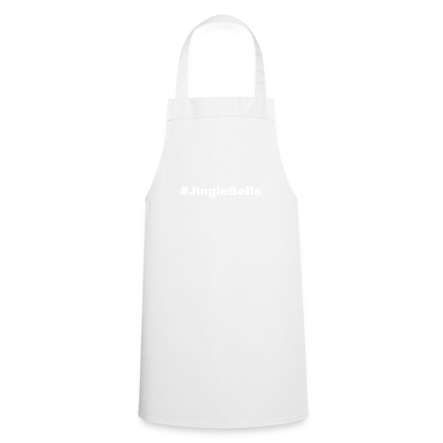 jingle bells white - Cooking Apron