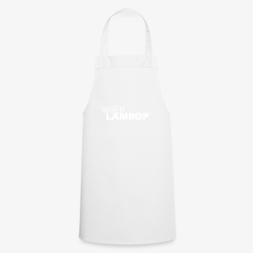 HODL-when lambo-w - Cooking Apron
