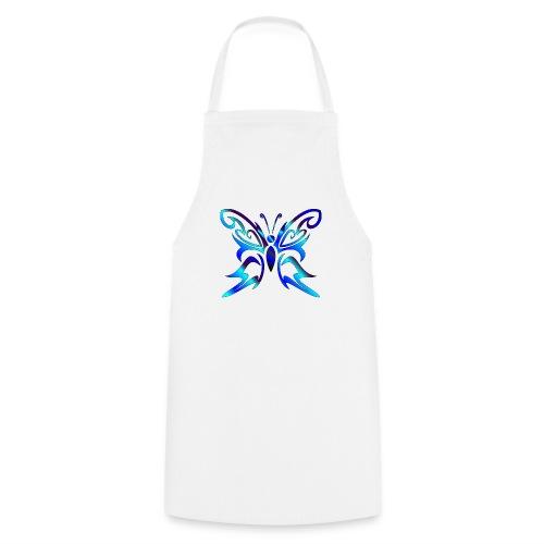 Tribal Weiss- Schmetterling - Kochschürze