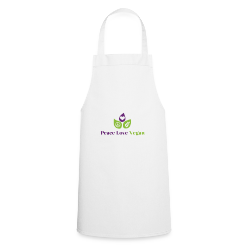 Peace Love Vegan - Cooking Apron