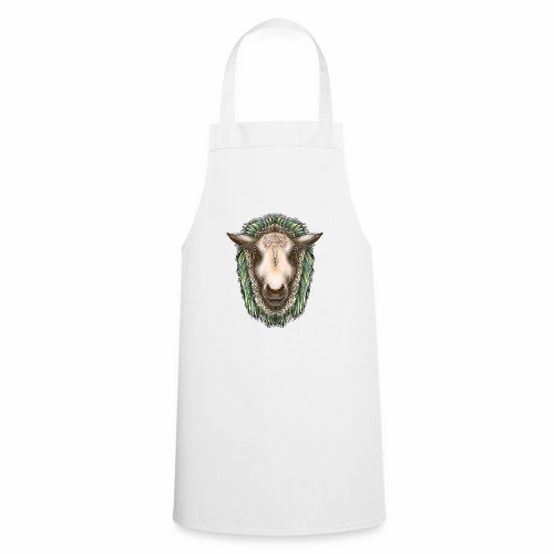 Zed The Sheep by Jon Ball - Cooking Apron