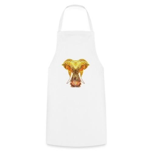 Eléphant Feu - Tablier de cuisine
