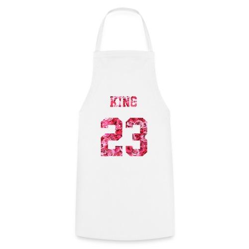 KING 23 PINK ROSES.png - Kochschürze