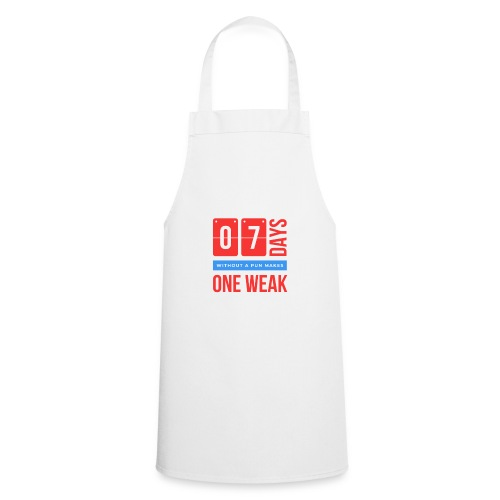 one week - Grembiule da cucina