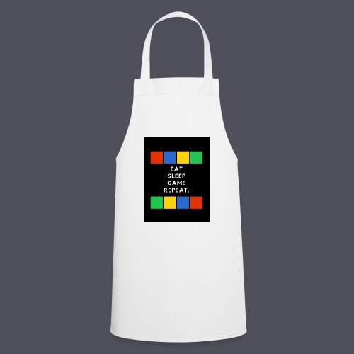 Eat, Sleep, Game, Repeat T-shirt - Cooking Apron