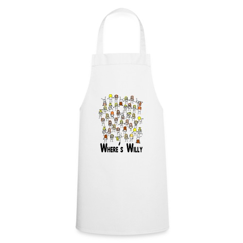 Where's willy - Cooking Apron