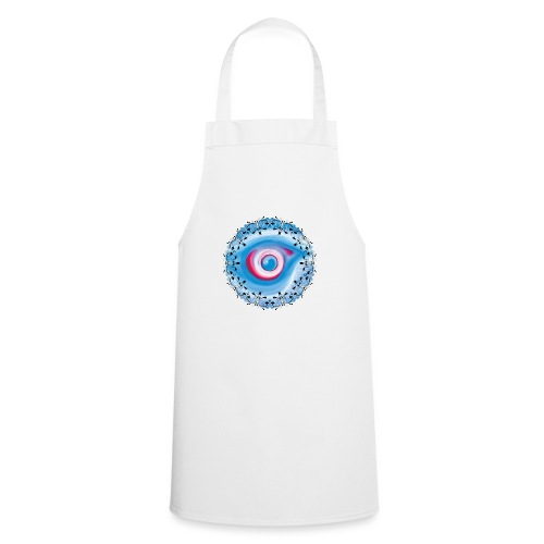 floral eye - Cooking Apron
