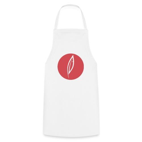 Logo - Rond rouge - Tablier de cuisine