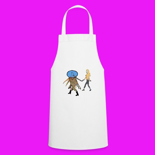 walk your fish - Cooking Apron