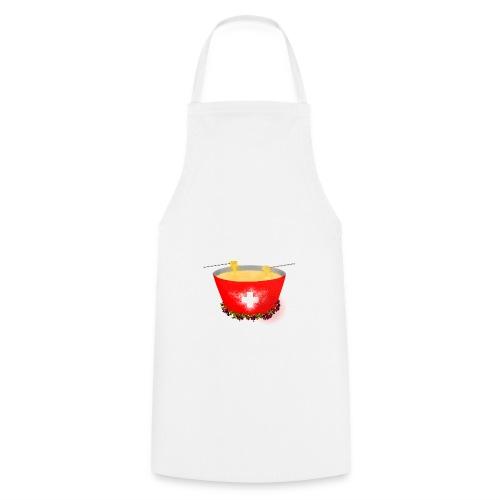 Einzigartiges Schweizer Fondue T-Shirt - Kochschürze