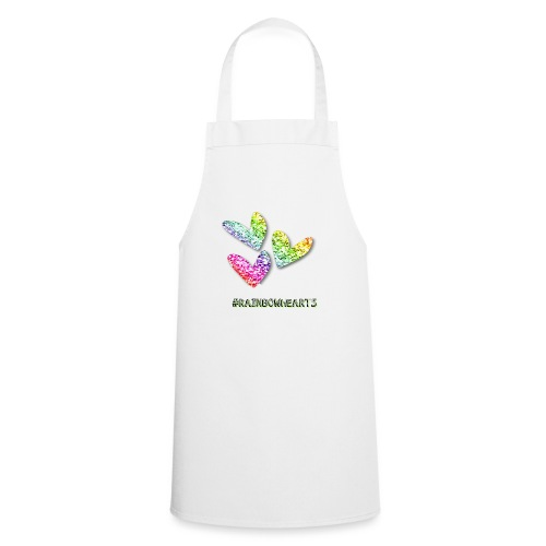 #RAINBOWHEARTS - Cooking Apron