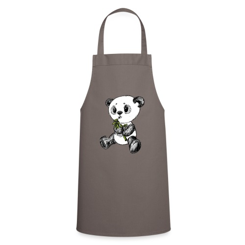 Panda bjørn farvet scribblesirii - Forklæde