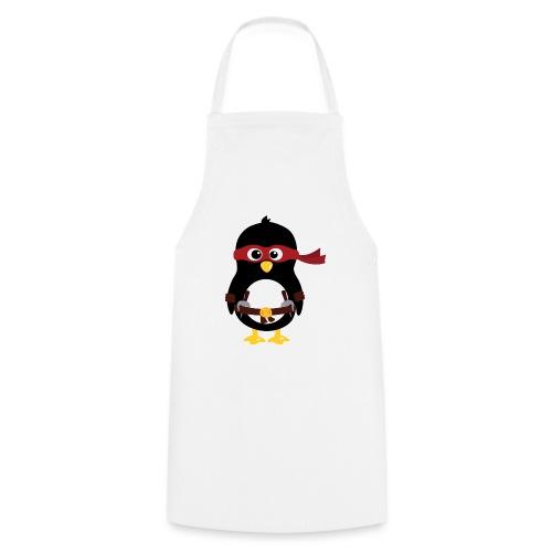 Pingouin ninja Raphaelo - Tablier de cuisine