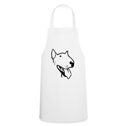 bull terrier2 - Cooking Apron