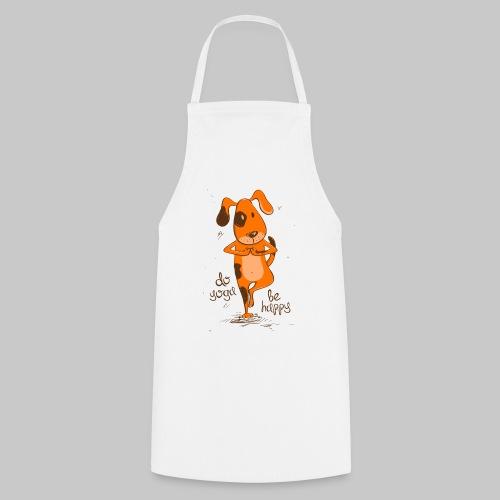 yoga dog - Kochschürze