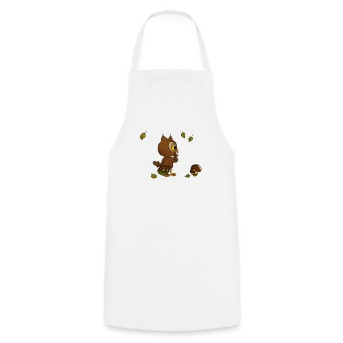 Eule sucht Pilze - Kochschürze