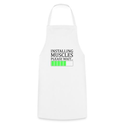 Installing muscles - Tablier de cuisine