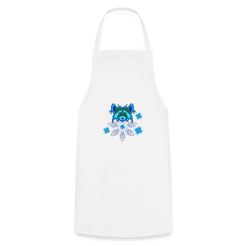 Snow Raccoon - Kochschürze