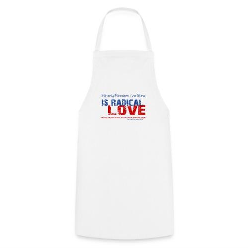 Radikale Liebe blue - Kochschürze