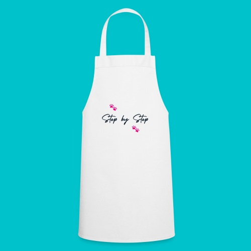 Step by Step (zampine rosa) - Grembiule da cucina