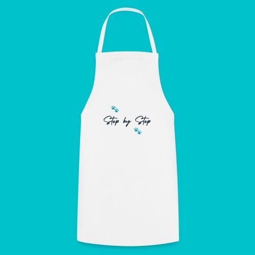 Step by Step (zampine azzurre) - Grembiule da cucina