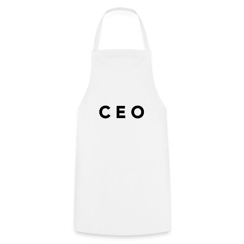 CEO LOGO BLACK - Cooking Apron