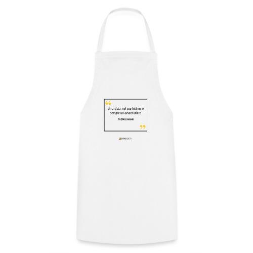 Citazione Thomas Mann - Grembiule da cucina