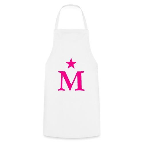 M de Moderdonia rosa - Delantal de cocina