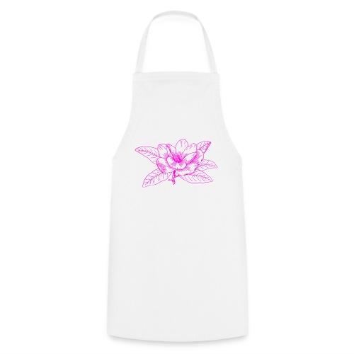 Camisetas y accesorios de flor color rosada - Delantal de cocina