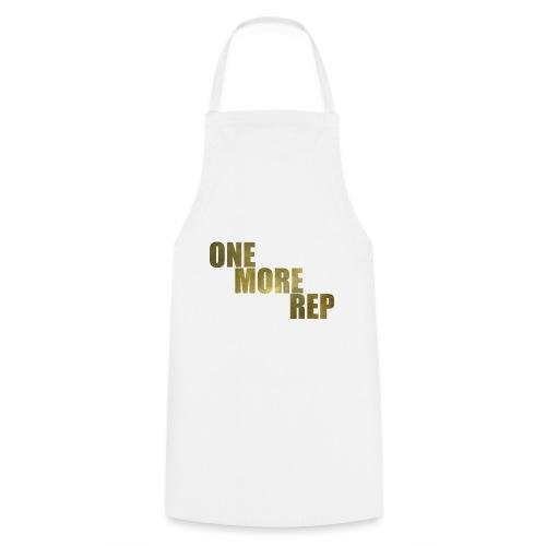 ONE MORE REP Gym Workout Freizeit - Kochschürze