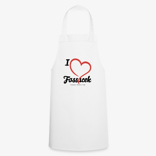 I Love Fossacek - Grembiule da cucina